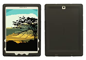 BobjGear Carcasa Resistente para Tablet Samsung Galaxy Tab S2 9.7 - Bobj Funda Protectora (Negro)