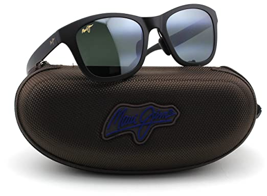 ee06d2c0f7 Amazon.com  Maui Jim 434-2M HANA BAY Matte Black Frame   Polarized ...