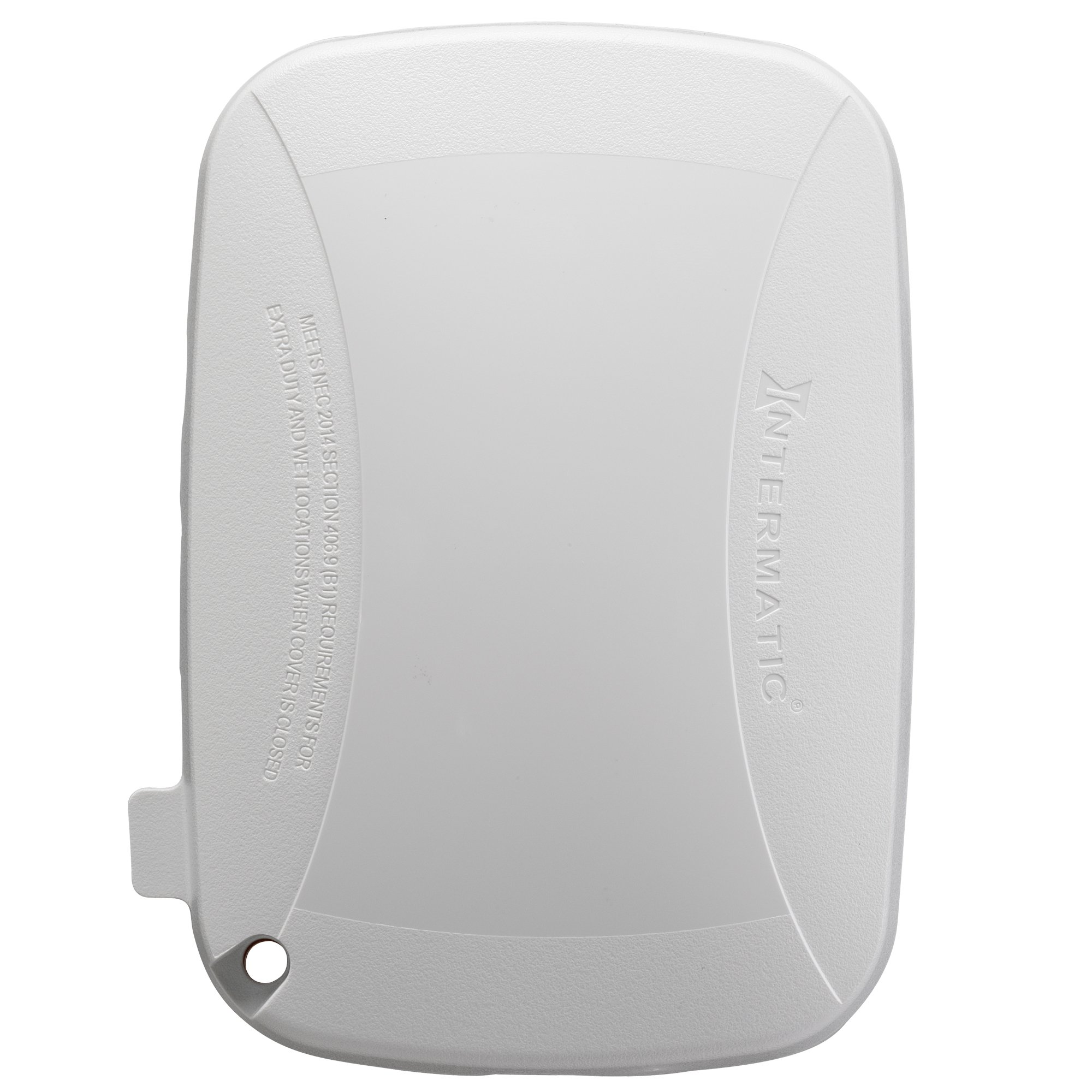 Intermatic WP5100W Extra Duty Plastic Weatherproof Cover, 2.75-Inch Single Gang, White