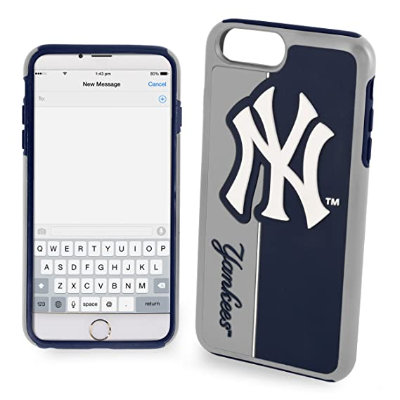 competitive price 4979a 6d77f Forever Collectibles Dual Hybrid Bold Series Case for iPhone 7 MLB New York  Yankees