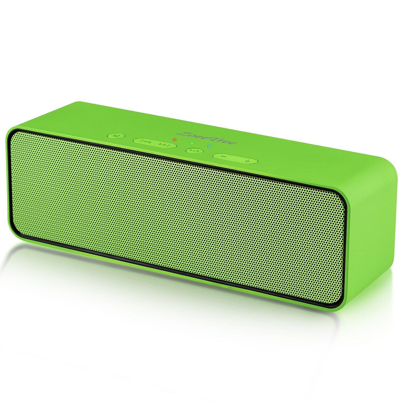 Altavoz Bluetooth, ZoeeTree S4 Subwoofer Inalámbrico Portátil, Altavoces Bluetooth 4.2 estéreo con 10W Driver