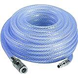 Einhell 13992 Tuyau pour Air Comprimé, 15m, 10 bar, Diamètre 9 mm, Violet