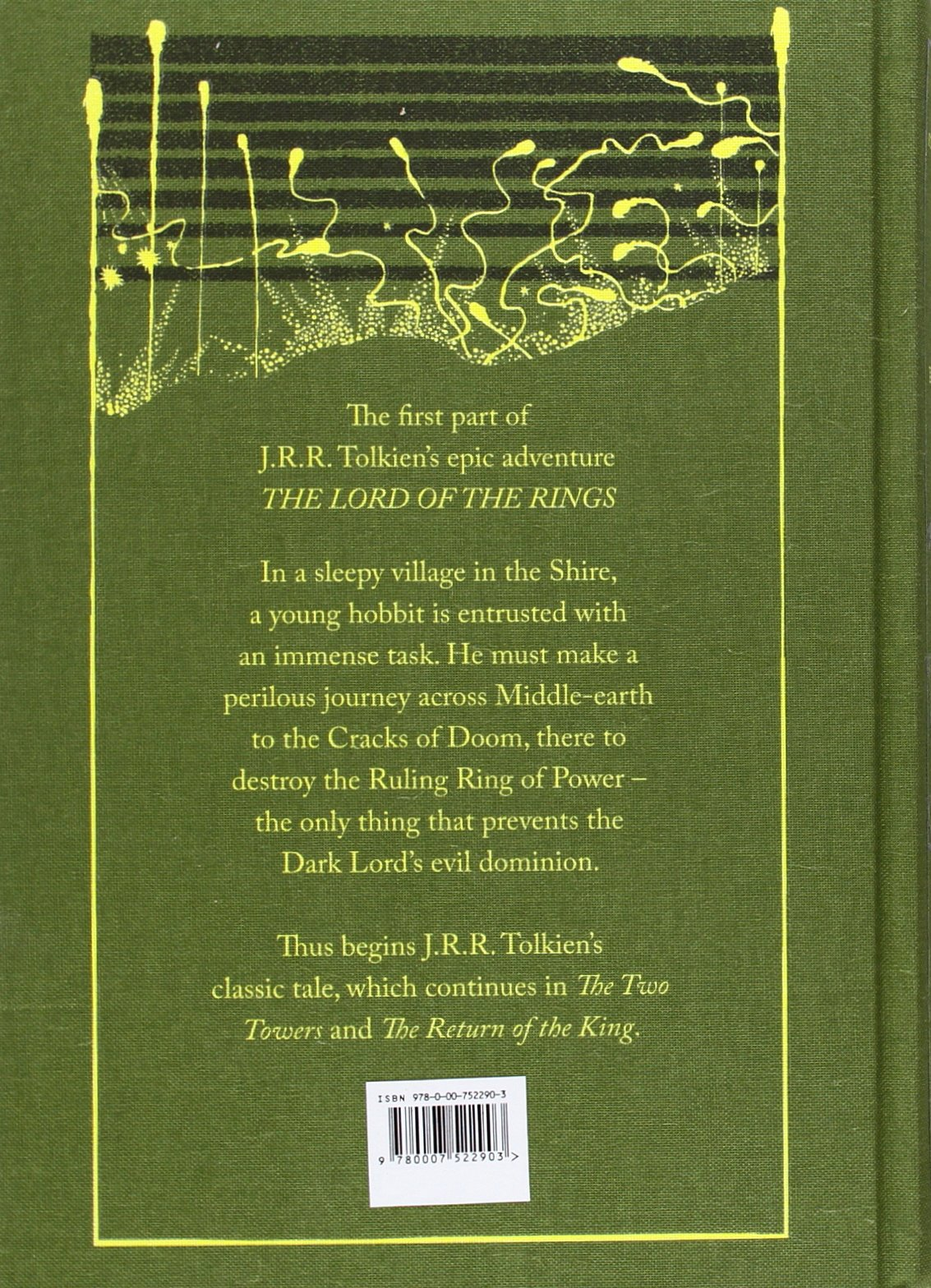 The Fellowship Of The Ring Lord of the Rings 1 Collectors: Amazon ...