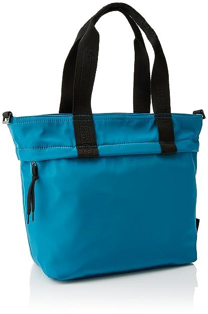 Womens HOBO JUMPER SS18 TURQUESA Shoulder Bag Turquoise Turquoise (Aqua) Munich EUYxX