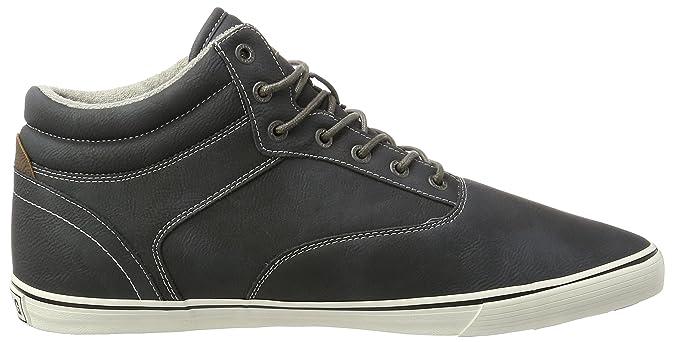 Les Hommes 4120-501-259 Mustang Haute Sneaker Z1ZuR1mI