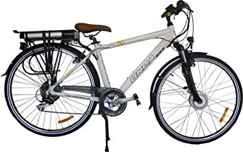 Bicicleta electrica plegable rueda 28