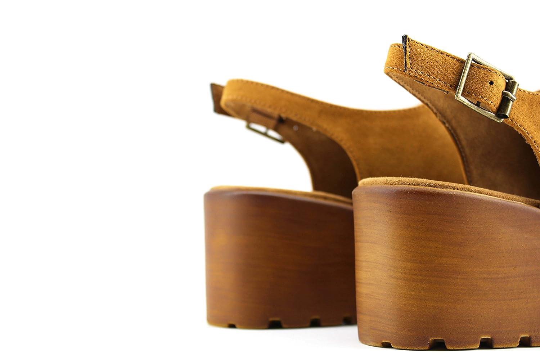 72772d642af MODELISA Sandalia Plataforma Cerrada Mujer  Amazon.es  Zapatos y  complementos