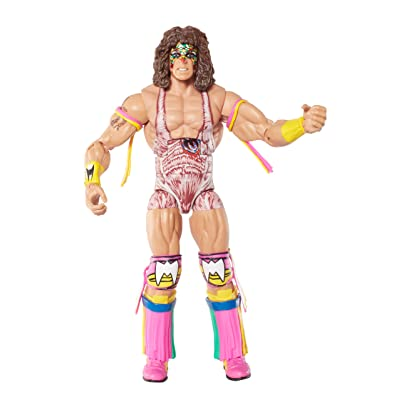 WWE Elite Collection Series 26 Ultimate Warrior Action Figure: Toys & Games