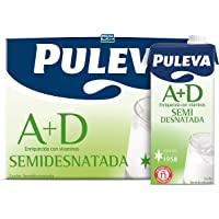 Puleva Leche Semidesnatada - 6 x 1 L