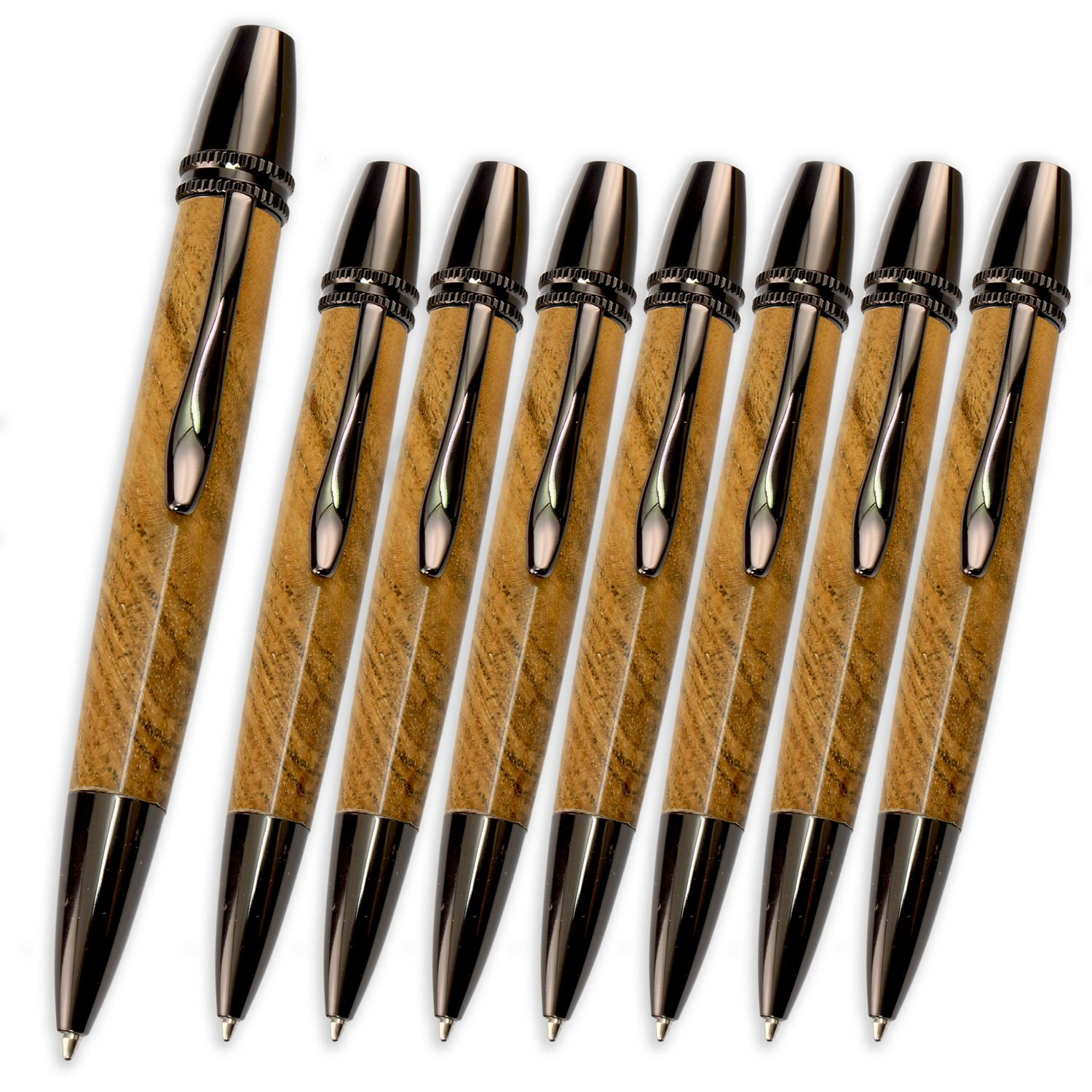 Legacy Woodturning, Polaris Twist Pen Kit, Many Finishes, Multi-Packs by Legacy Woodturning