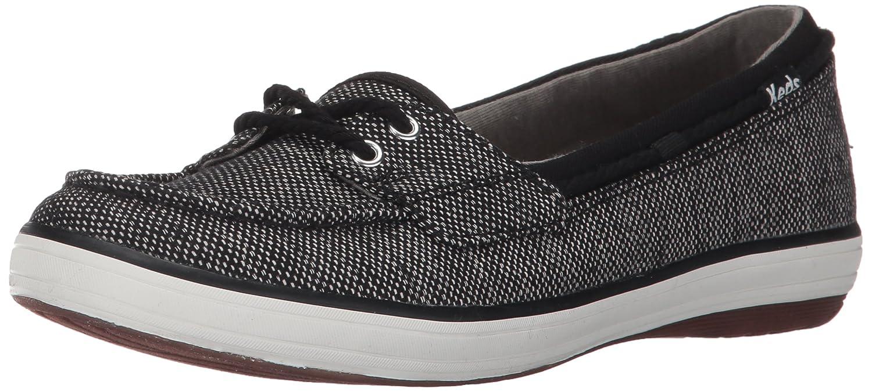 Keds Women's Glimmer Salt and Pepper Fashion Sneaker B01N5R8W3T 7.5 B(M) US|Black