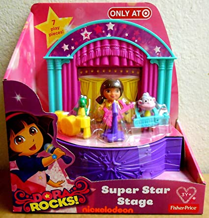 Color Fisher Price Dora The Explorer Rocks Super Star Stage