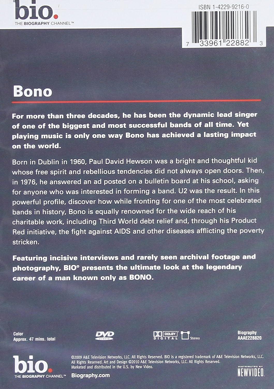 Amazon com: Biography: Bono: Biography: Movies & TV