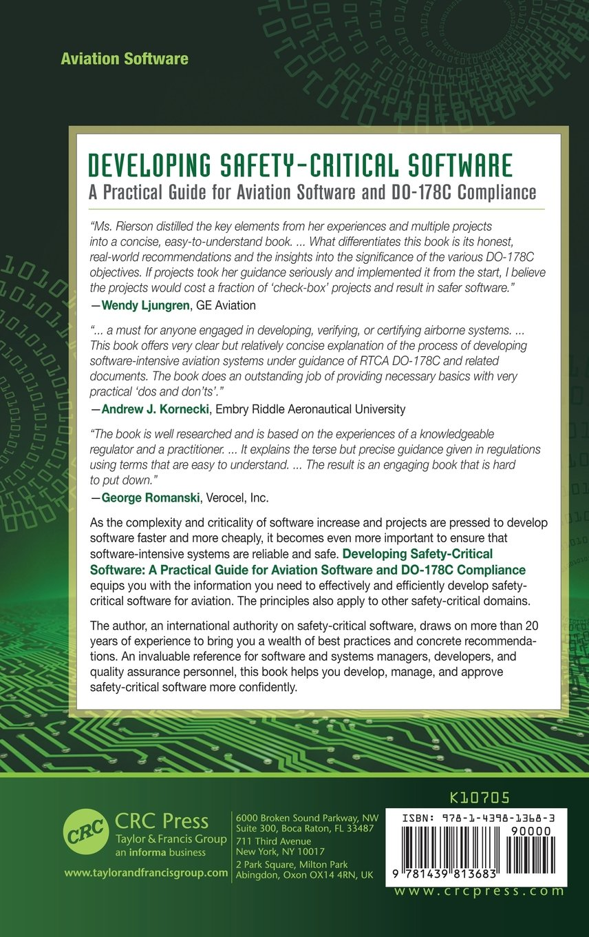 Developing Safety-Critical Software: A Practical Guide for Aviation Software and DO-178C Compliance by imusti
