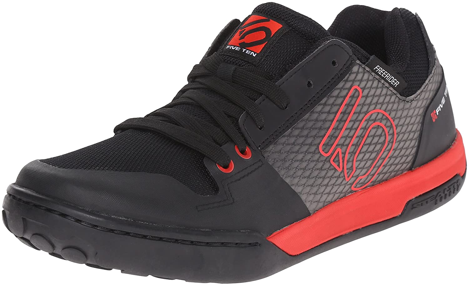 Five Ten Freerider Contact Sportschuhe, schwarz rot, Gr. 42 1 2