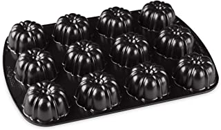 product image for Nordic Ware Brownie Bundt Pan, 3.75 Cup Capacity, Graphite