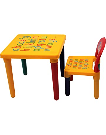 1pc Premium Plastic Diy Kinder Table And Chair Set With Colorful Alphabet Kinder Study Table Activity Fun Child Toy Furniture Children Furniture