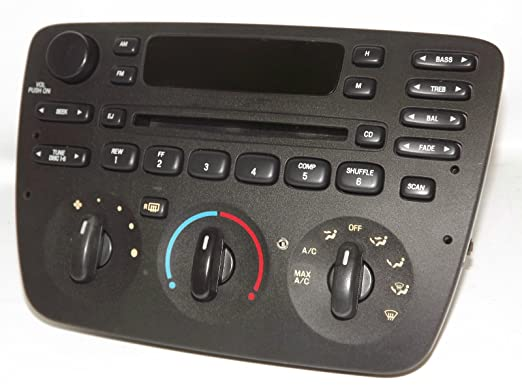Amazon Ford Taurus 20002004 Am Fm Cd Radio With Aux Input Rhamazon: Ford Taurus Mercury Sable Radio Cd Car Stereo At Elf-jo.com