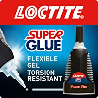Loctite Super Glue Power Flex Control, Flexible Super Glue Gel, Superglue with Non-Drip Formula for Vertical…