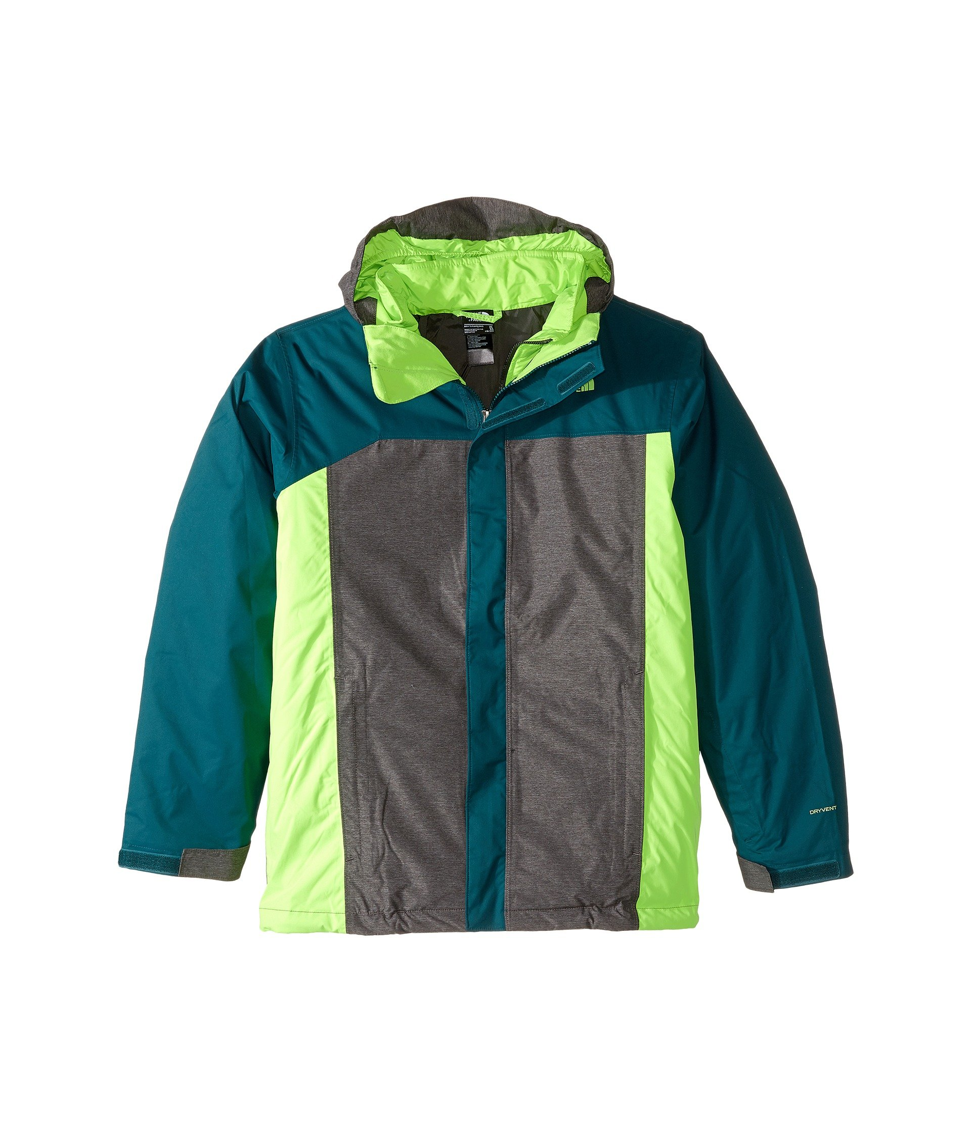 The North Face Little Boys' Boundary Triclimate Jacket - deep teal blue, xs/6 by The North Face