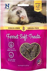 N-Bone 1 Pouch Ferret Soft Treats Chicken Flavor, 3 Oz