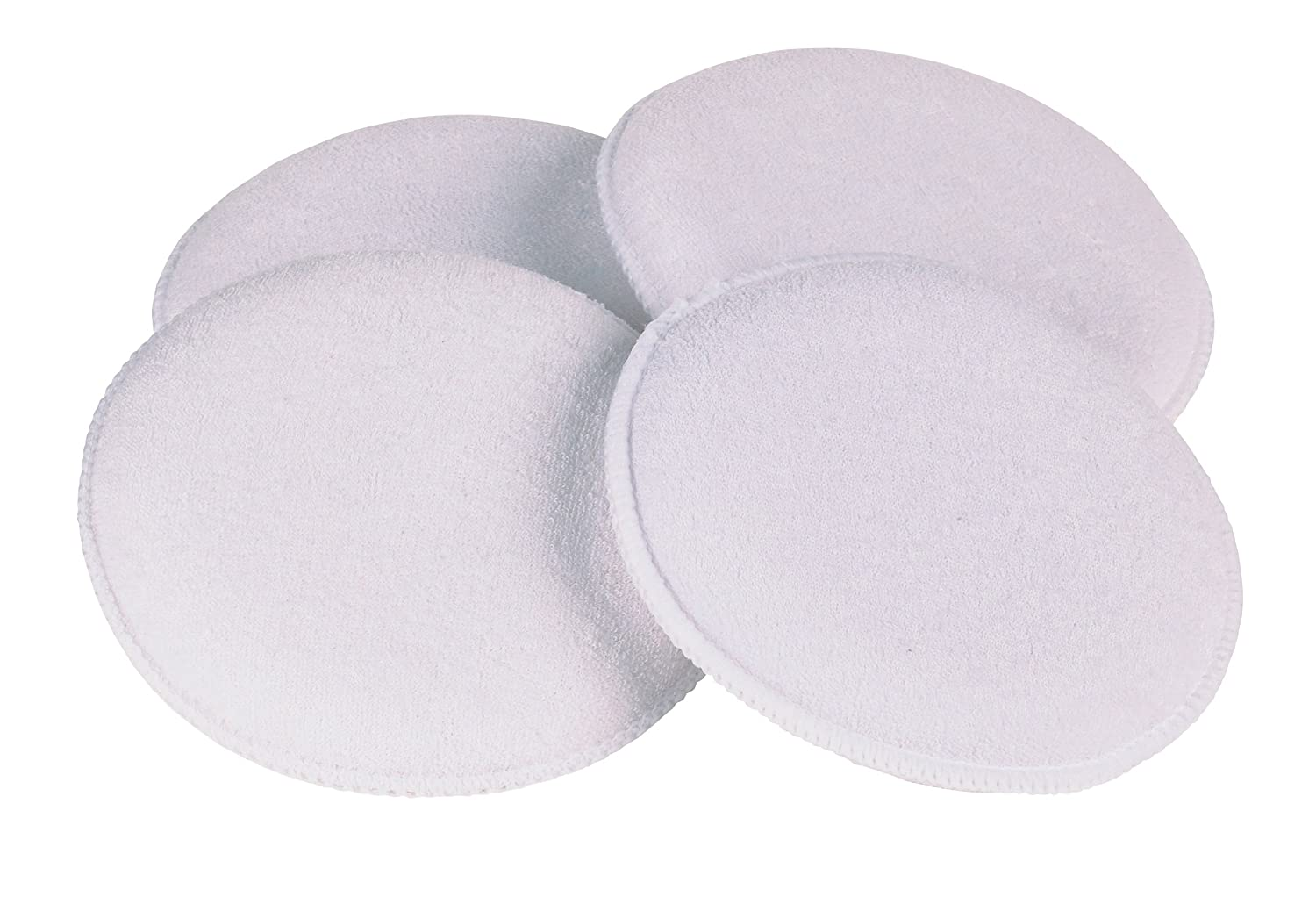 Carrand 40119 Terry Cloth 5' Round Applicator Pad, 4 Pack Carrand Co. Inc.