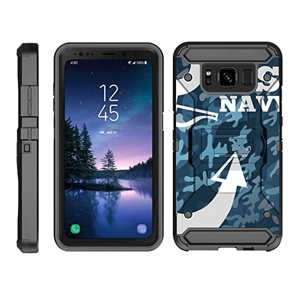 factory authentic 6ebfb 9cede Amazon.com: TurtleArmor   Compatible for Samsung Galaxy S8 Active ...