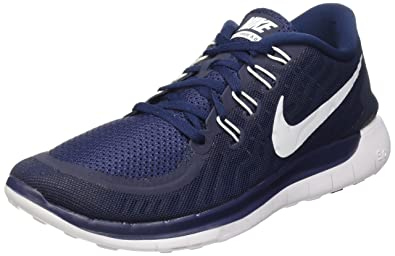 promo code 05734 33002 Nike Free 5.0, Men s Running Shoes, Blue (404 Mid Navy White-