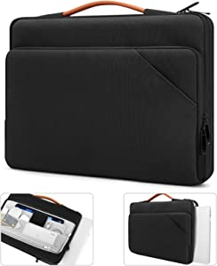 TiMOVO 13.3 Inch Laptop Tablet Sleeve Case with Handle Compatible with iPad Pro 12.9 2020/2021, MacBook Air 13 Inch, MacBook Pro 13
