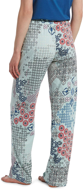 HUE Womens Printed Knit Long Pajama Sleep Pant