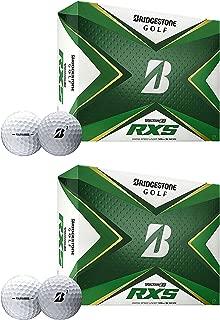product image for Bridgestone Golf 2020 PGA Tour B RXS Golf Balls with REACTIV Cover, White (2 Dozen)