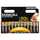 Duracell MN1500 Plus Power AA Size Batteries-Pack of 12