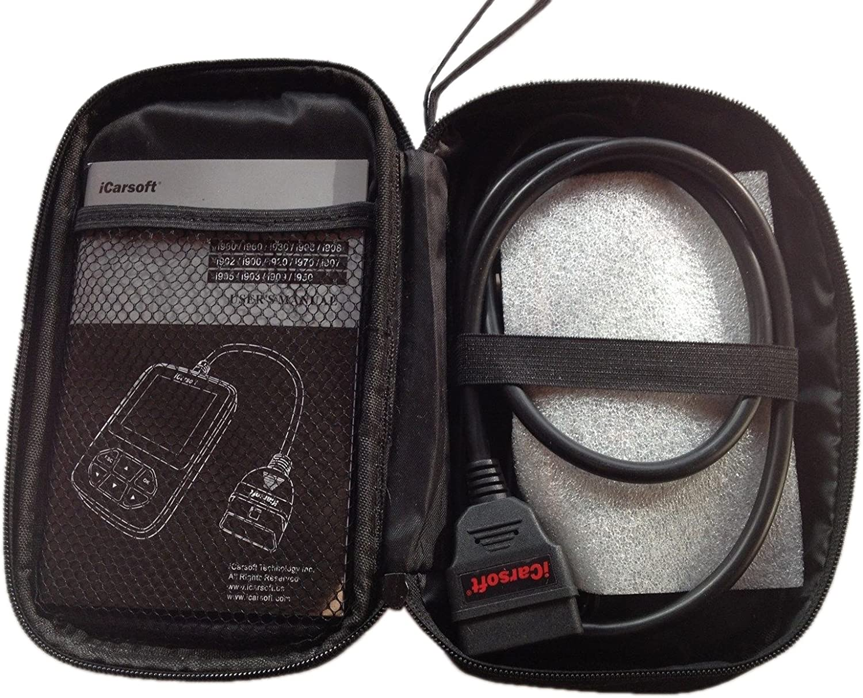 OBD2 Diagnoseger/ät i902 OPEL KFZ Code Scanner Fehlercodes lesen//l/öschen, Airbag, Motor, ABS etc.
