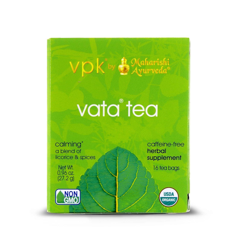 Organic Calming Vata Herbal Tea |16 Tea Bags