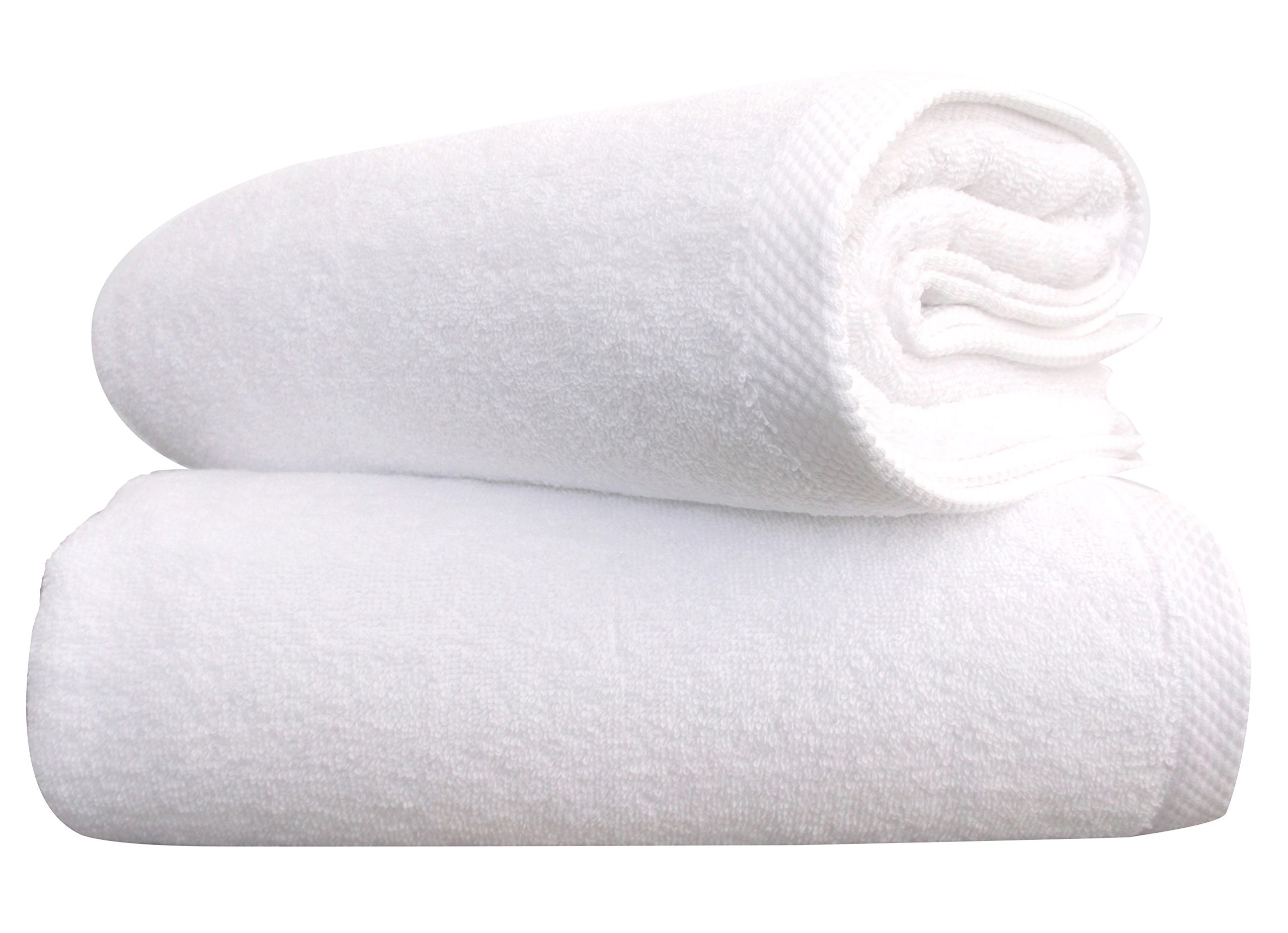 Classic 100% Turkish Cotton Towel Set - Absorbent and Durable Hotel and Spa Quality Towel Set (35x70 Bath Sheet Set)
