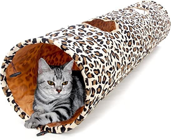 "PAWZ Road Cat Tunnel Dog Tube For Fat Cat Big Cat Length 51"" Diameter 12 inch"