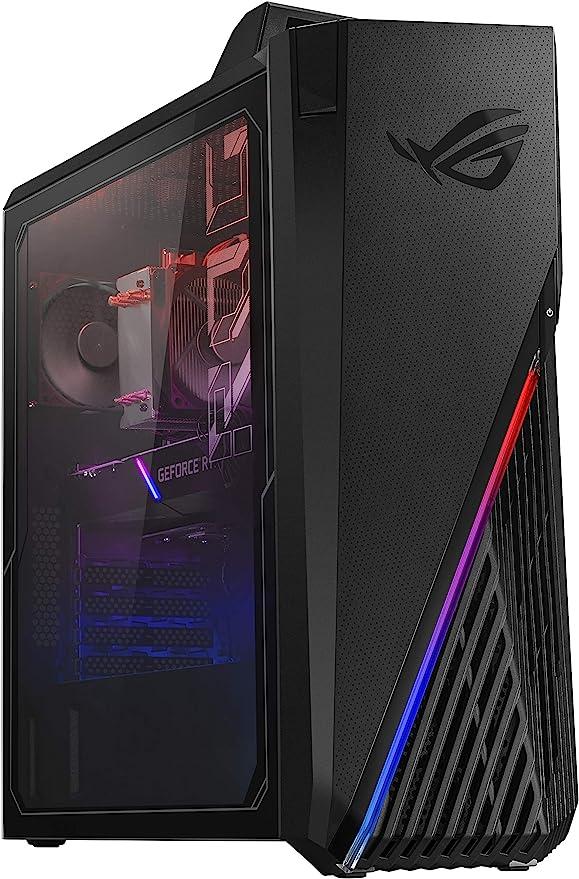 ROG Strix GA15DK Gaming Desktop PC, AMD Ryzen 7 5800X, GeForce RTX 3070, 16GB DDR4 RAM, 512GB SSD + 1TB HDD, Wi-Fi 5, Windows 10 Home, GA15DK-AS776 | Amazon