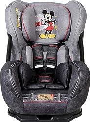 Cadeira para Auto Disney Migo Eris Denim Mickey Mouse, Disney, Jeans Black, 0 a 25 kg