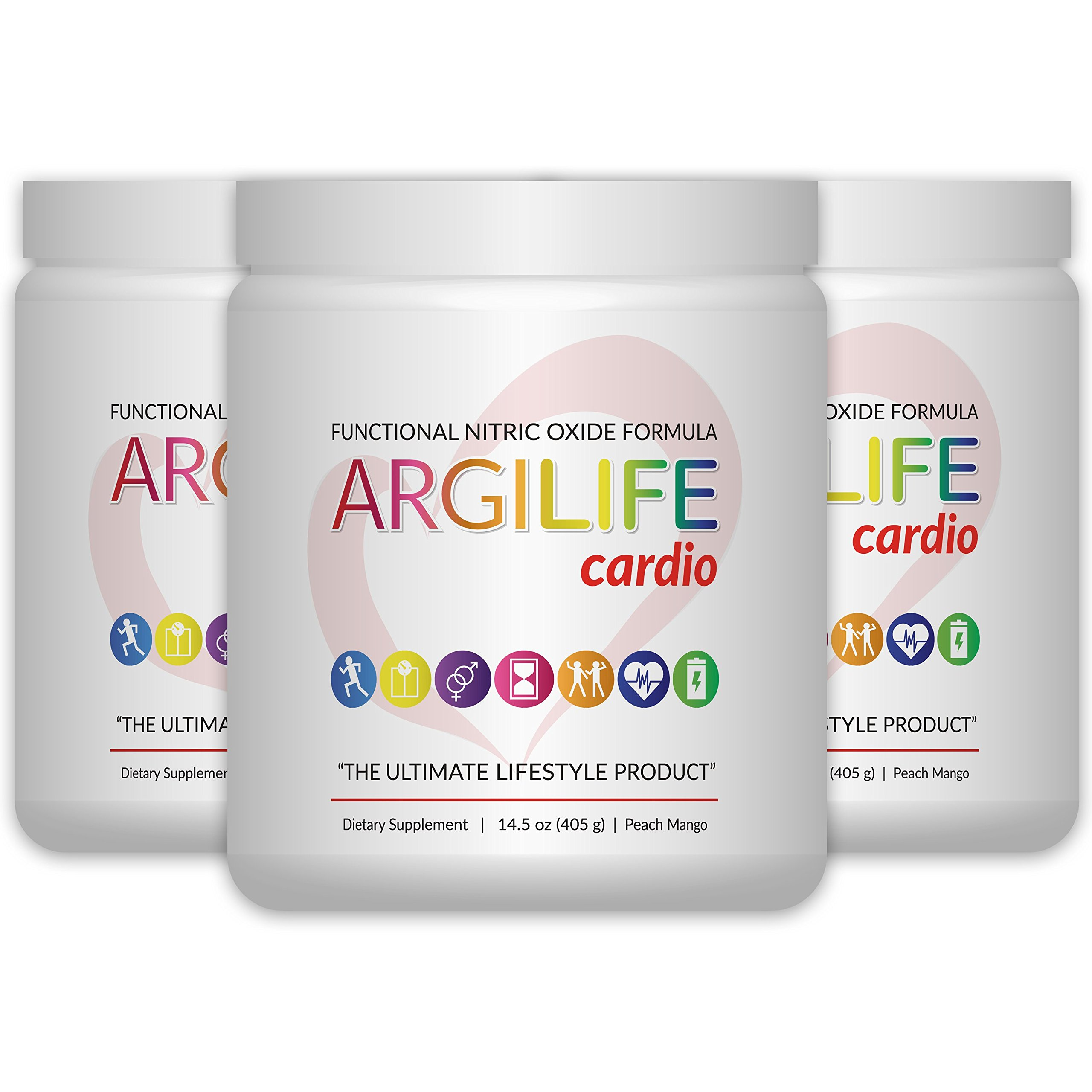ArgiLife The Ultimate Cardio Product 3 pack