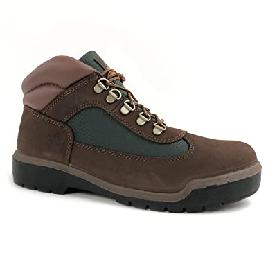 Timberland Men's Beef and Broccoli Brown Hiker Field Leather Boots (7) | Hiking Boots