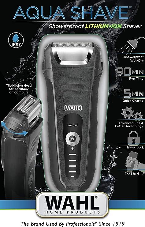 WAHL 07061-916 afeitadora Máquina de Afeitar de láminas Negro ...