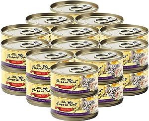 Fussie Cat Super Premium Chicken & Duck Formula in Gravy Grain-Free Wet Cat Food 2.82oz, case of 24