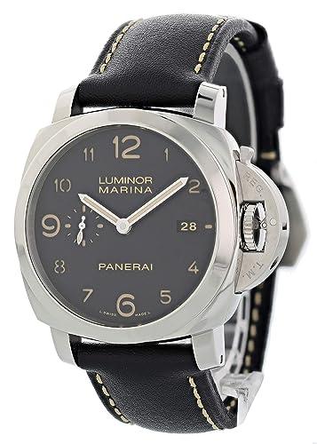 Panerai Luminor Marina Automatic-Self-Wind PAM00359 Reloj Masculino (Certificado de Propiedad previa