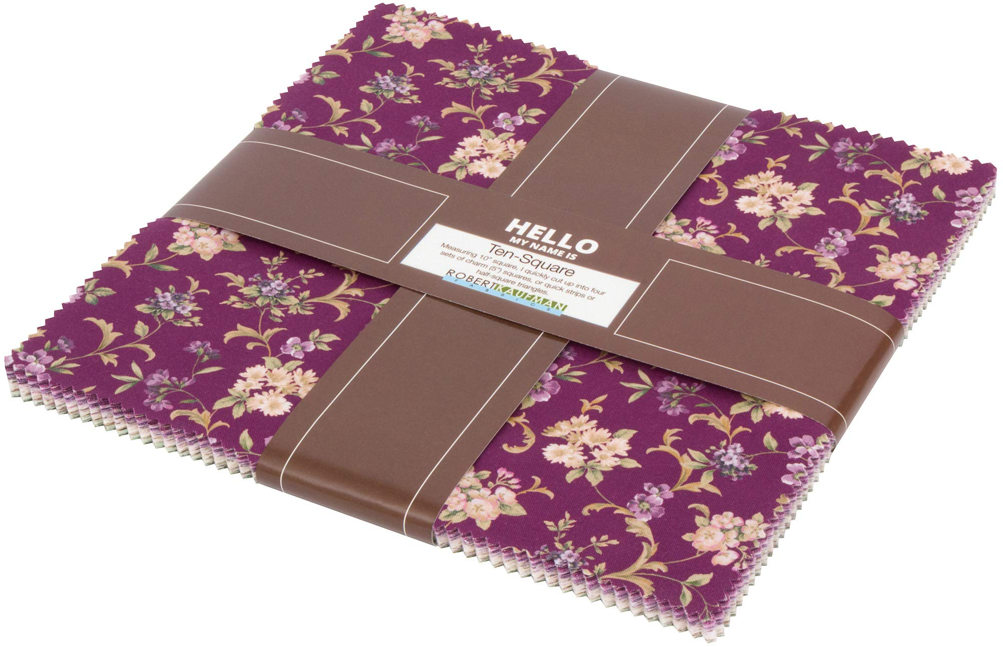 Meredith Ten Square 42 10-inch Squares Layer Cake Robert Kaufman Fabrics TEN-723-42 by Robert Kaufman Fabrics