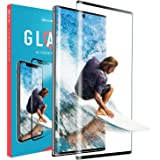SLIMROCK Samsung Galaxy Note 10 Plus Tempered Glass Screen Protector, Full Coverage Anti Scratch 10+ Shield Guard Film …
