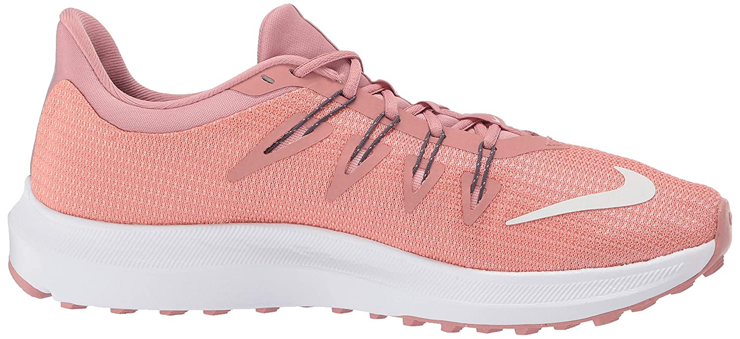 Amazon.com | Nike Womens Quest Running Shoes, Pink (Rust Pink/Summit White/Pink Ti 600), 2.5 UK | Road Running