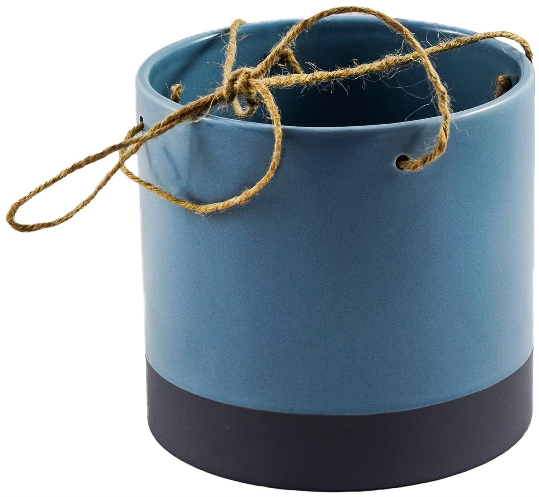 Plant Pot Planter Tie Dye Dipped Design 13cm in Various Colours Ivyline