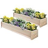 Greenes Fence Cedar Patio Planter Box, 48-Inch, 2-Planters