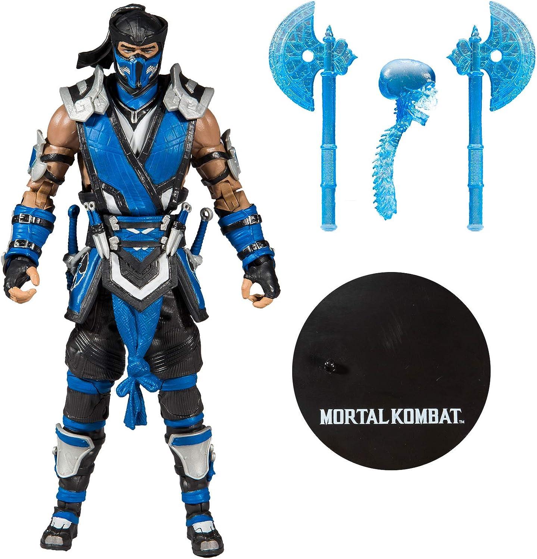 Amazon Com Mcfarlane Toys Mortal Kombat Sub Zero Action Figure