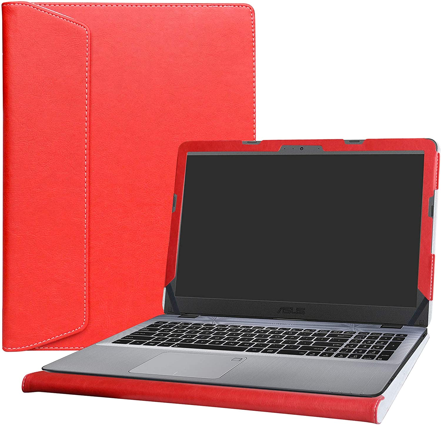 """Alapmk Protective Case Cover for 15.6"""" ASUS VivoBook Max X540 X540SA X540LA X541 X541SA X541NA X541UA X542BA Series Laptop(Warning:Not fit Other Model Laptop),Red"""